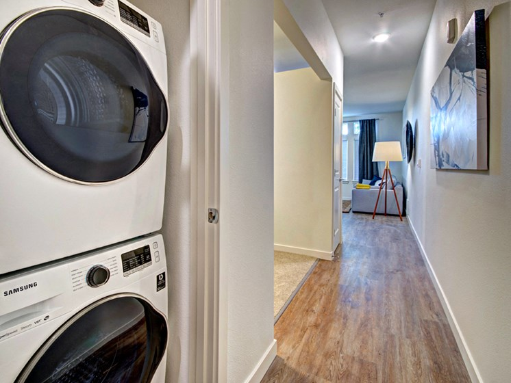 Washer/Dryer Connections at Emerald Crest, Bothell