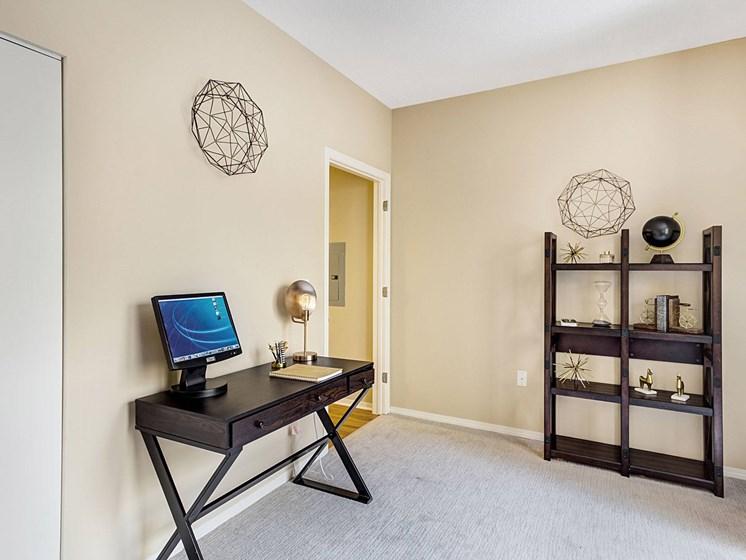 office / bedroom at Uptown Lake Apartments, Minneapolis, Minnesota