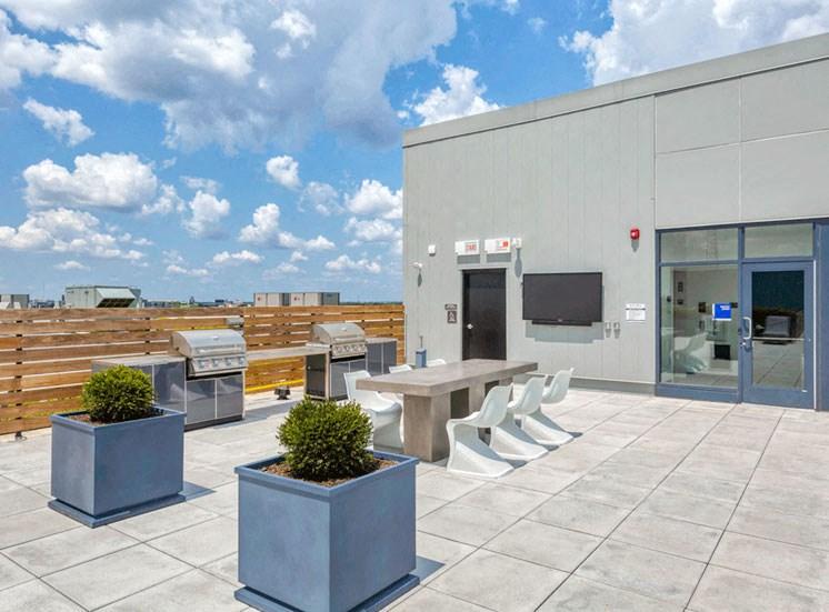 Rooftop Area at Noca Blu, Chicago, 60647