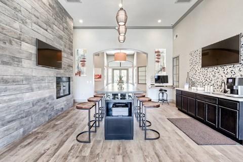 Stylish Resident Lounge