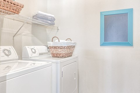 Laundry Room Full Size Washer and Dryer