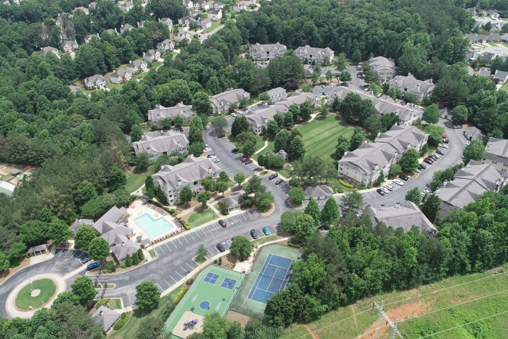 property- aerial view