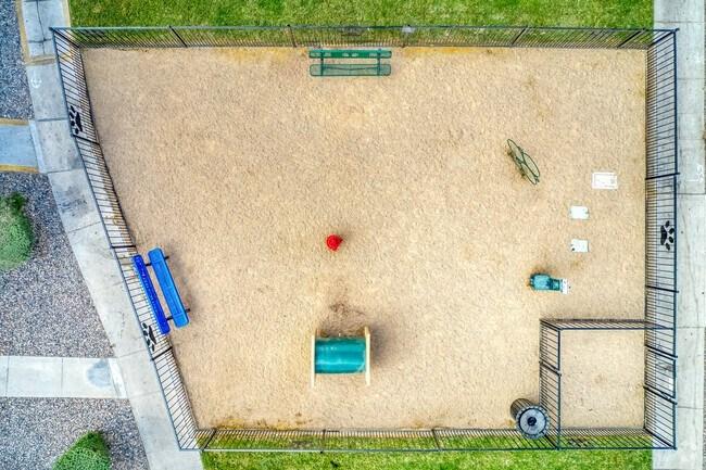 dog park aerial view