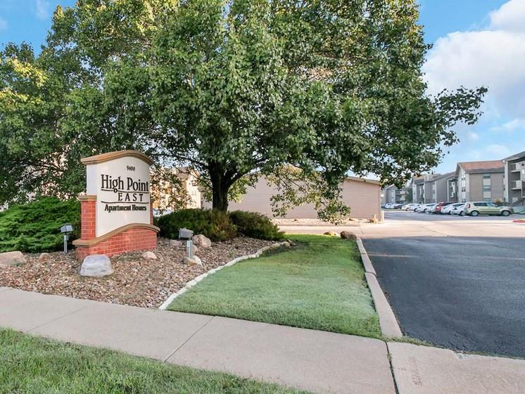 Apartments in Wichita Signage