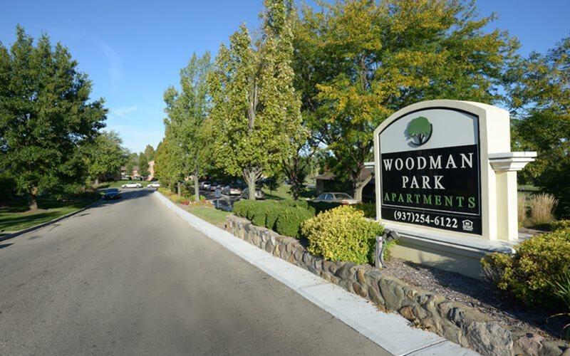 Woodman Park Apartments in Dayton, Ohio
