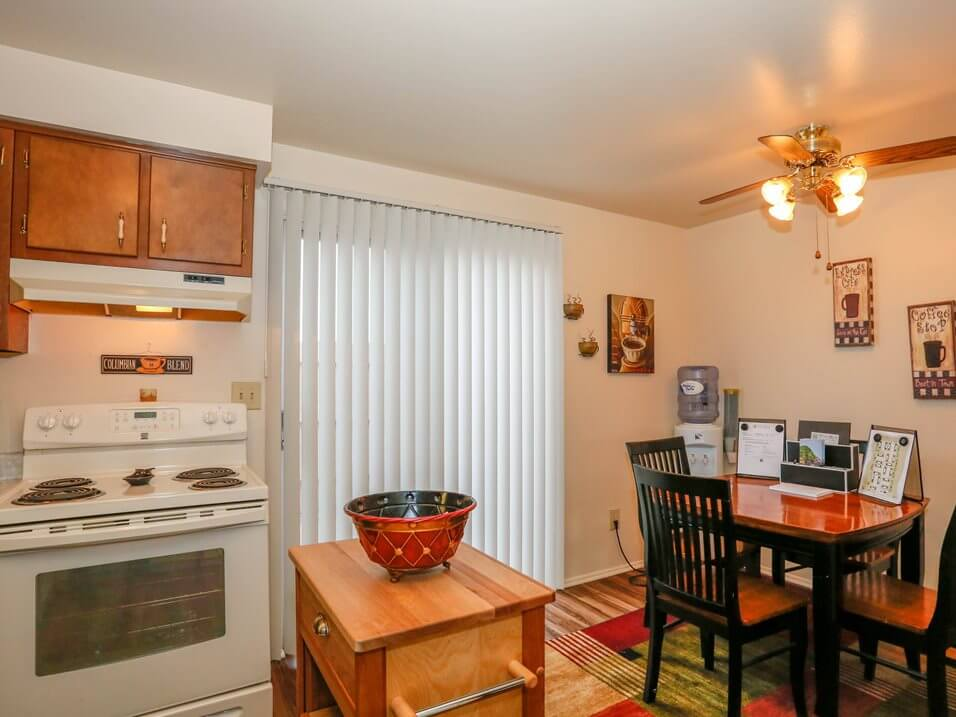 Huber Heights apts with private patio
