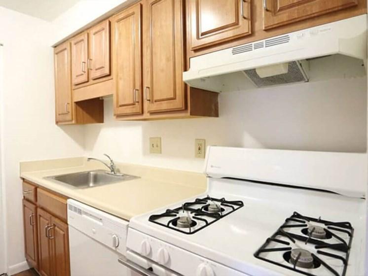 Kitchen at Northlake Village Apartments