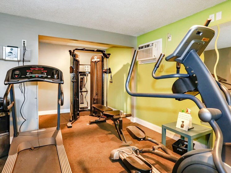 Fitness Center at Meadowrun Apartments