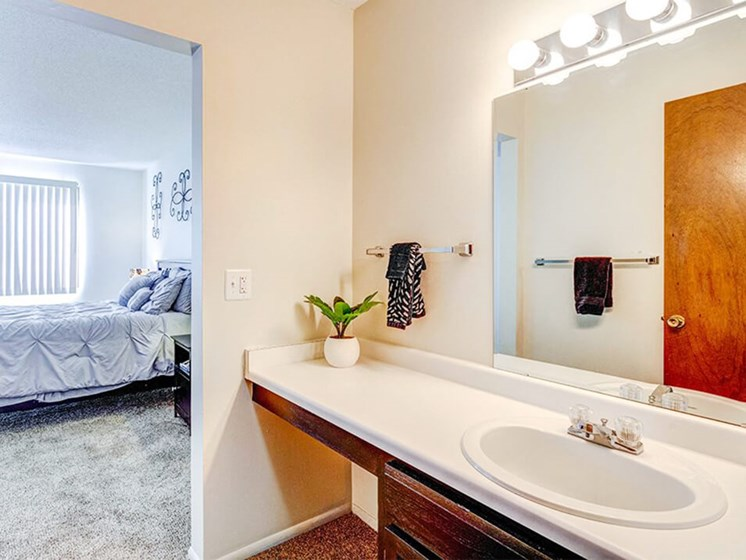 large bathrooms in Stone Grove apartments