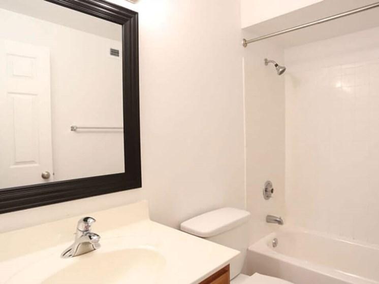 apartment bathroom in Lima Ohio