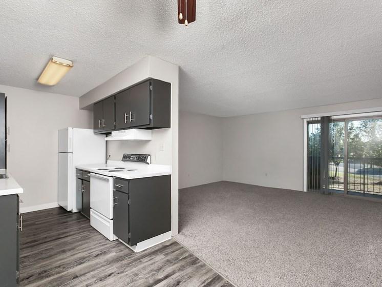 Apartments in Wichita Living Area