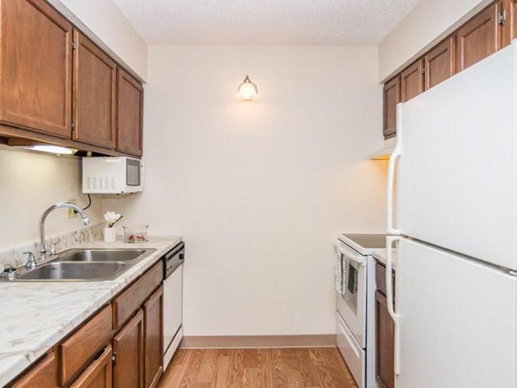 Ridge Oaks apartments kitchen