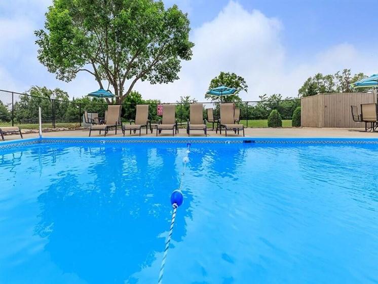 Swimming Pool at Grandview Apartments