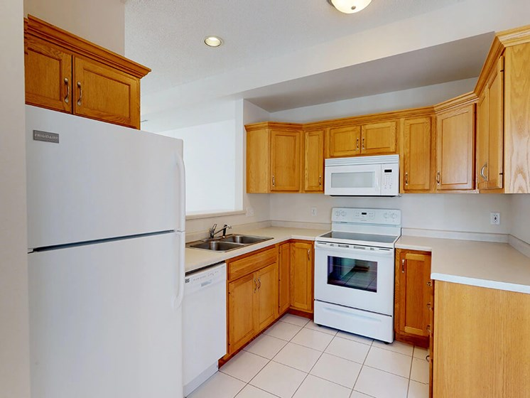 spacious kitchens at rochester mn townhomes