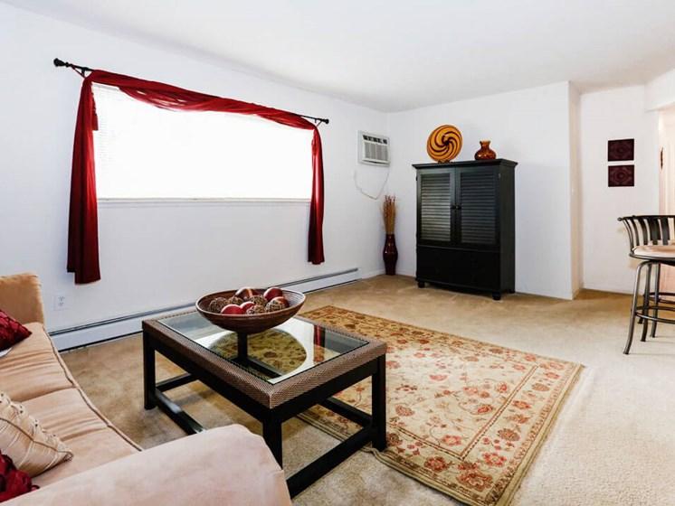 Model apartment at Meadowrun Apartments