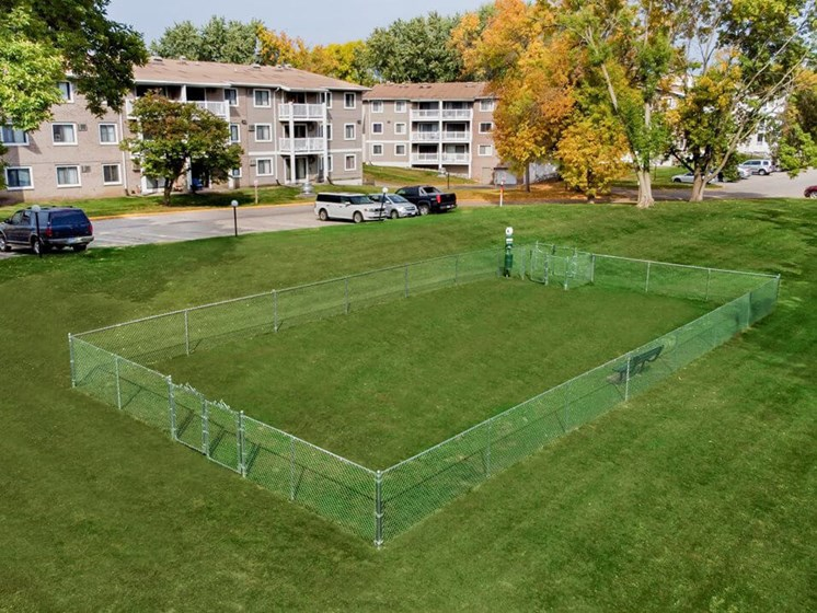 Burnsville apartments with dog park