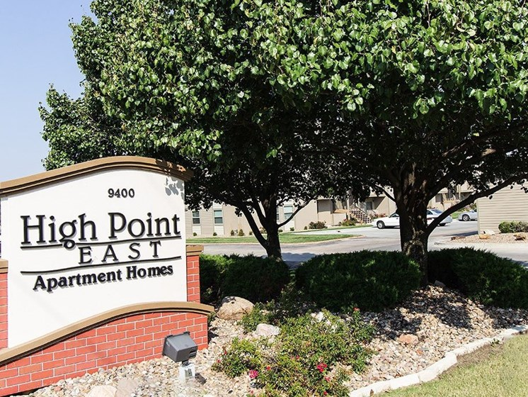Apartments in Wichita Entrance