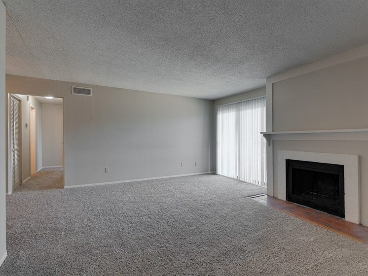 Fireplace in Apartment
