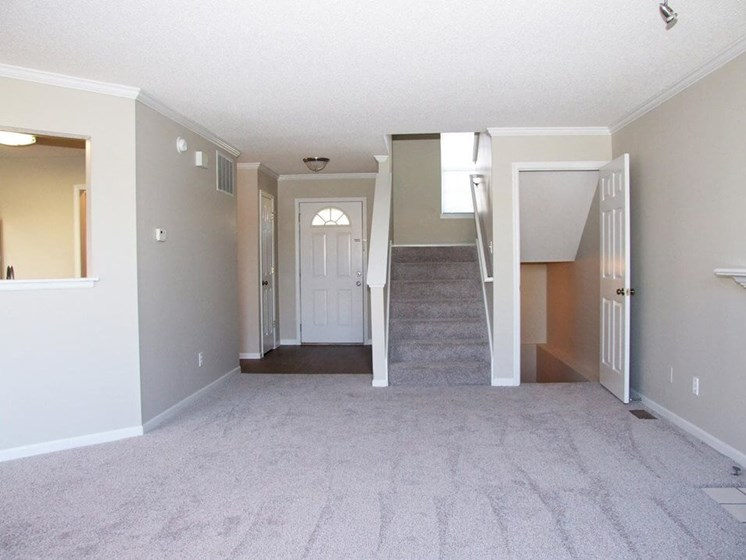 two bedroom townhome with basement