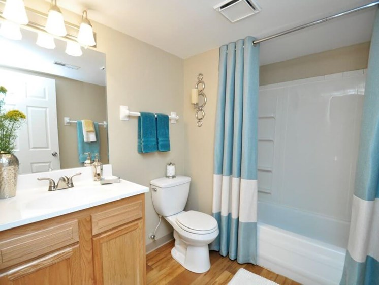 large bathroom at Pavilion Lakes apartments