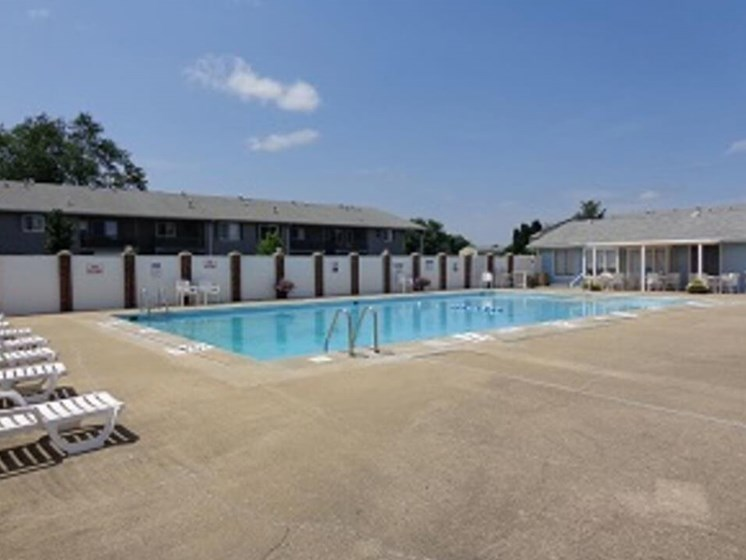 swimming pool at South Bend IN