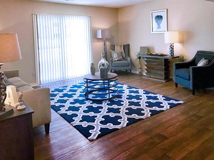 large living room at Arbors of Grandview Apartments