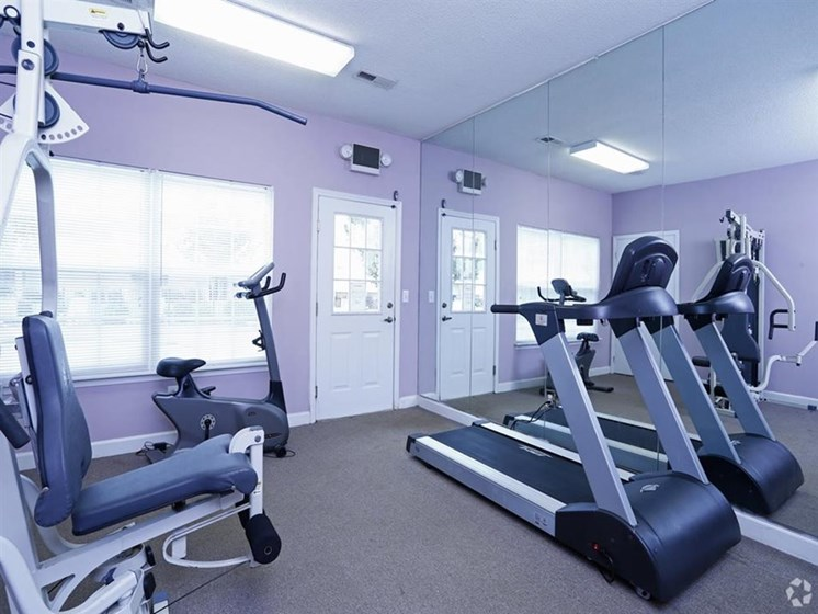 Fitness Center at The Landing Apartments