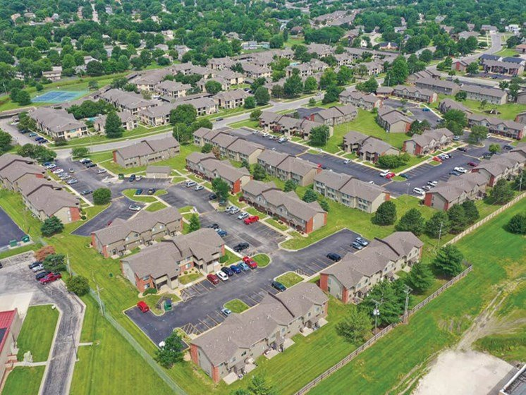 Villa West Apartments in Topeka KS