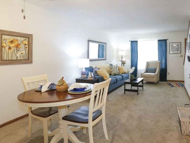 dining area at Topeka KS apartments