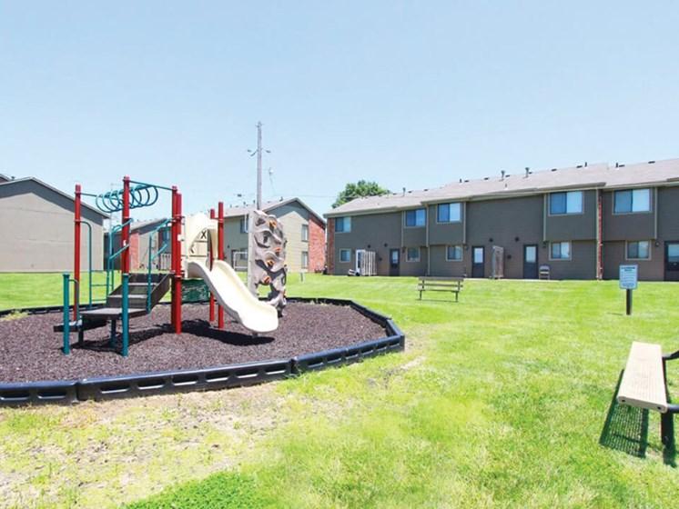 playground at Topeka KS apartments