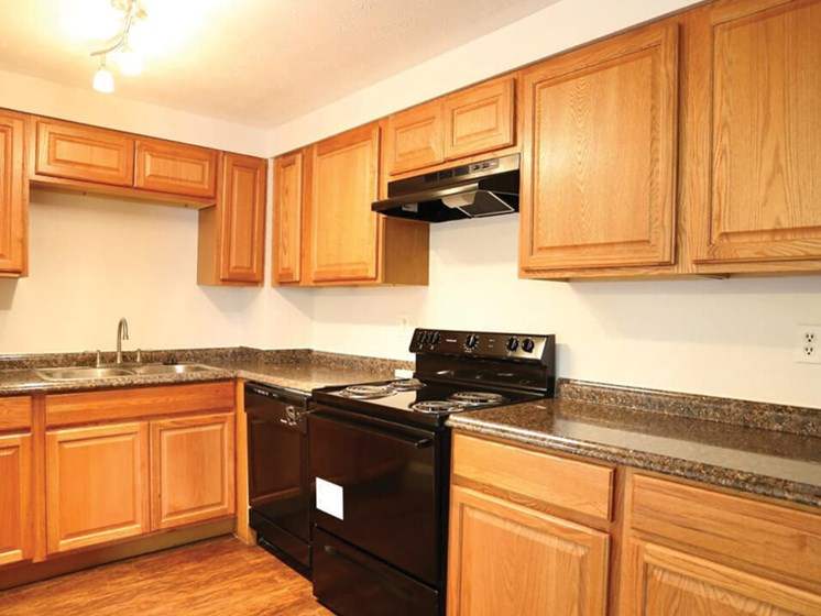 Kitchens at Columbus OH apartment for rent