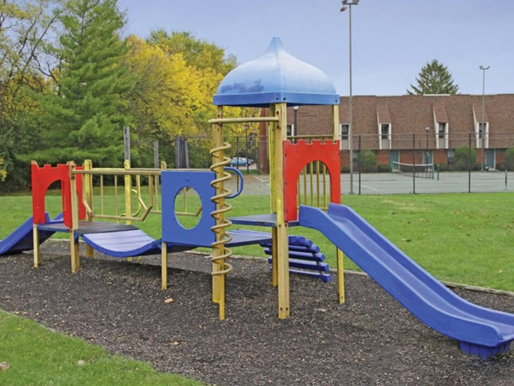 playground at The Brookville apartments