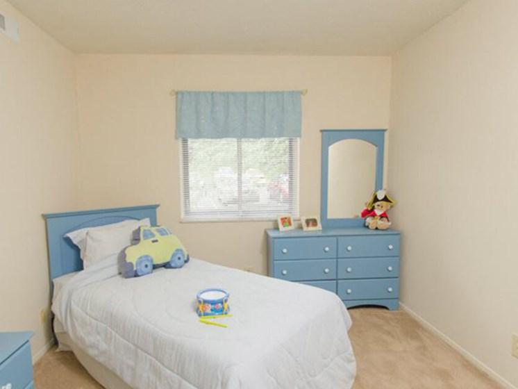 apartment second bedroom