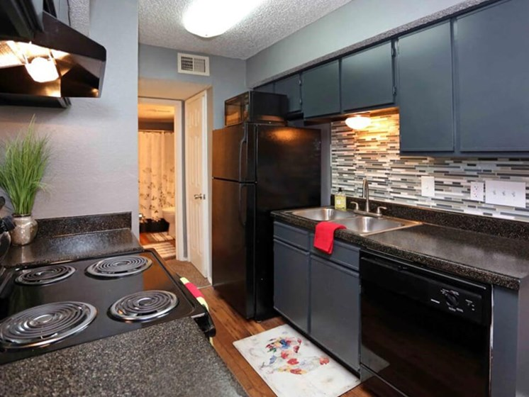 large kitchens at Fort Worth tx apartments