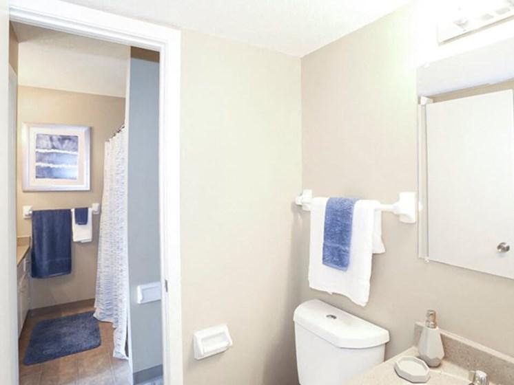 bathrooms at the Ridge at Chesnut