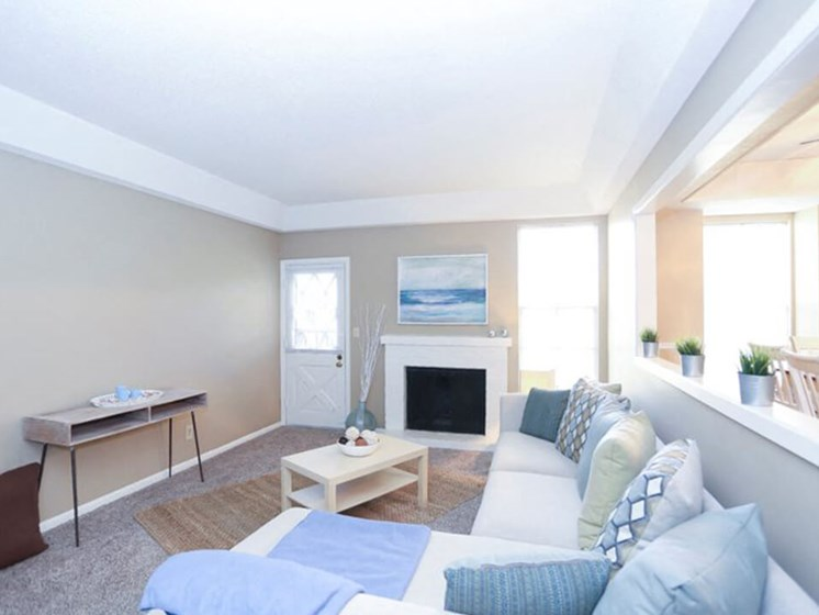 apartments with fireplace in Kansas City MO
