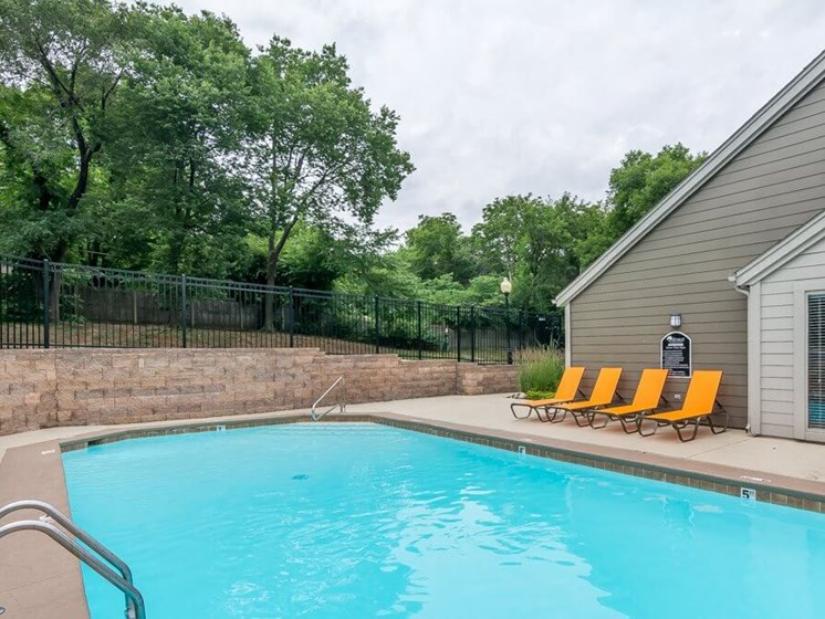 Swimming pool at The Retreat at Woodlands