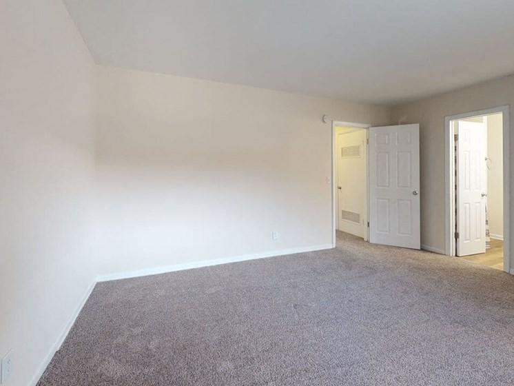 apartment bedroom in St. Joseph, MI