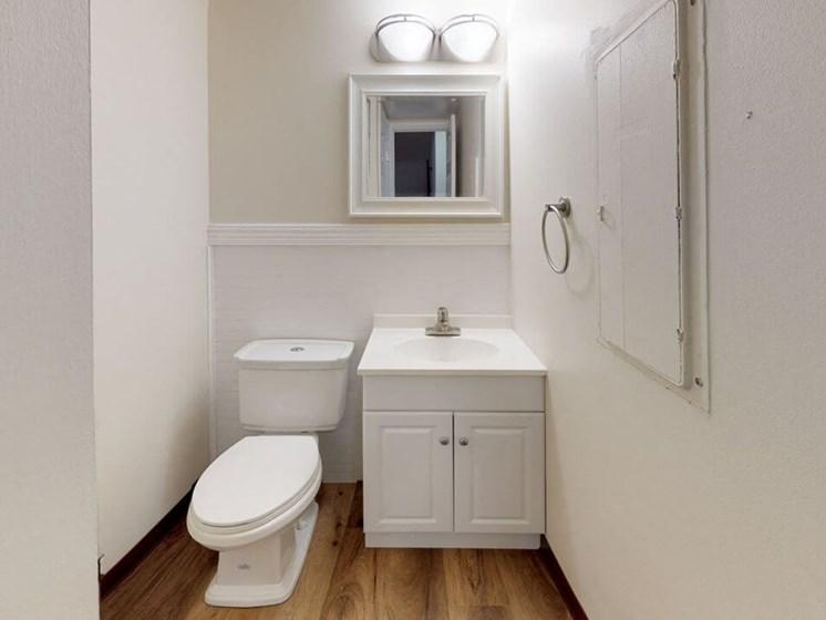 bathroom in St. Joseph, MI apartment