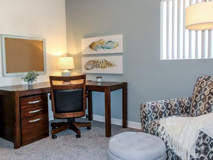 apartment bedroom in Tucson
