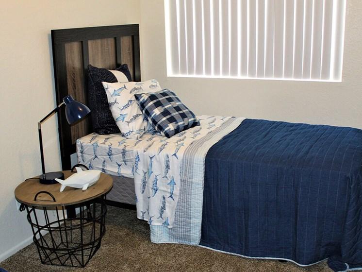 second bedroom at Tucson apartment