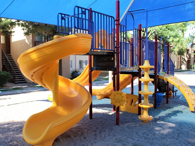 playground at Tucson apartments