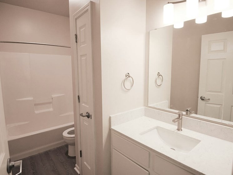 Norton Shores apartments with large bathrooms