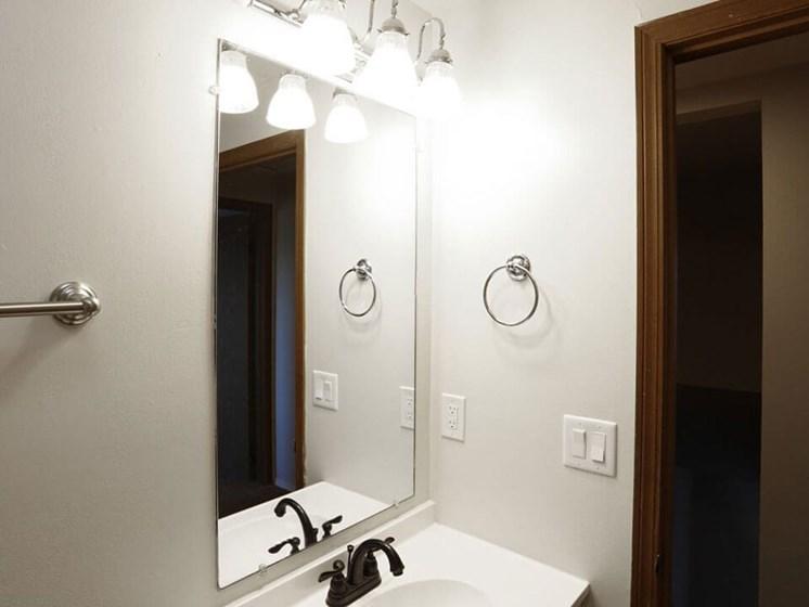 bathroom in Dayton OH apartments