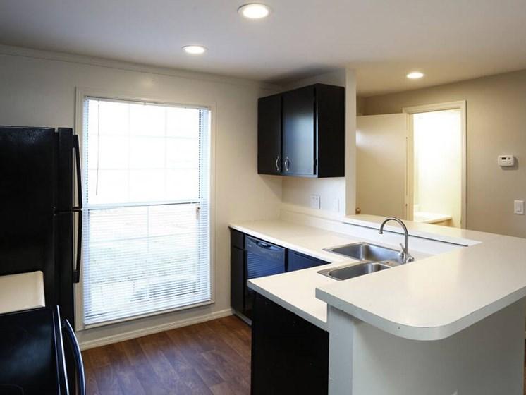 Spacious kitchen in Dayton OH apartments