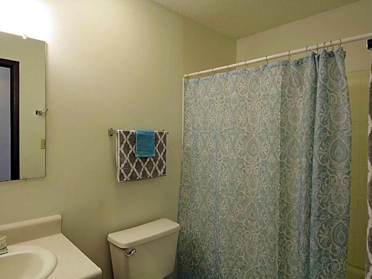spacious bathroom at Wichita KS apt