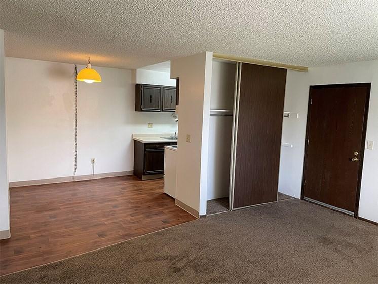 apartment home entrance