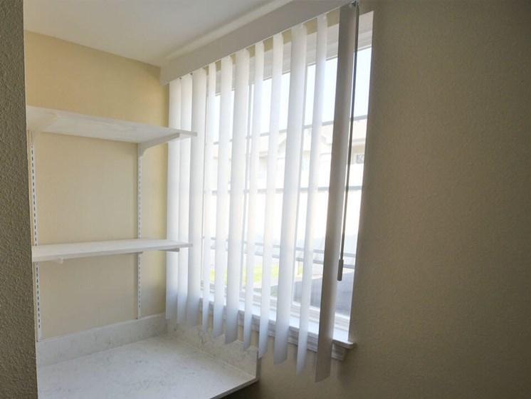 large windows in Norton Shores apartments