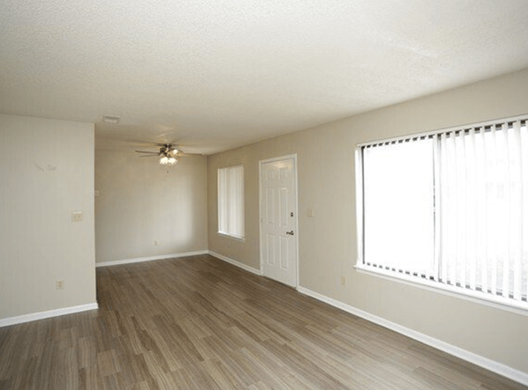 wood flooring at apartment