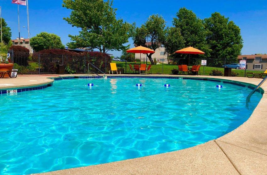 Regency North apartments swimming pool